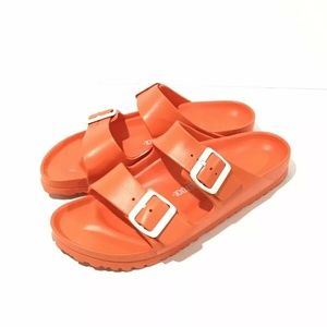 Birkenstock Arizona EVA Orange Rubber Sandal